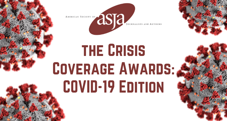 AMERICAN SOCIETY OF JOURNALISTS AND AUTHORS LAUNCHES FIRST-OF-ITS-KIND COVID-19 WRITING AWARDS
